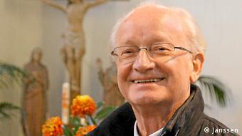 Hubertus Janssen in einer Kirche Foto: Hubertus Janssen