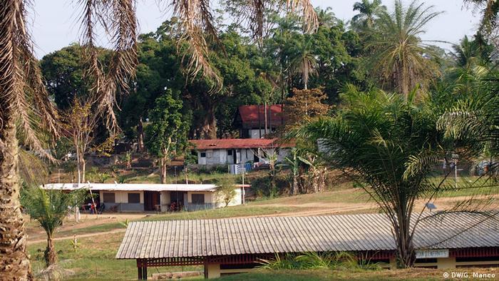 Die Albert Schweitzer Klinik in Lambarené, Gabun (Foto: DW/Gaia Manco)