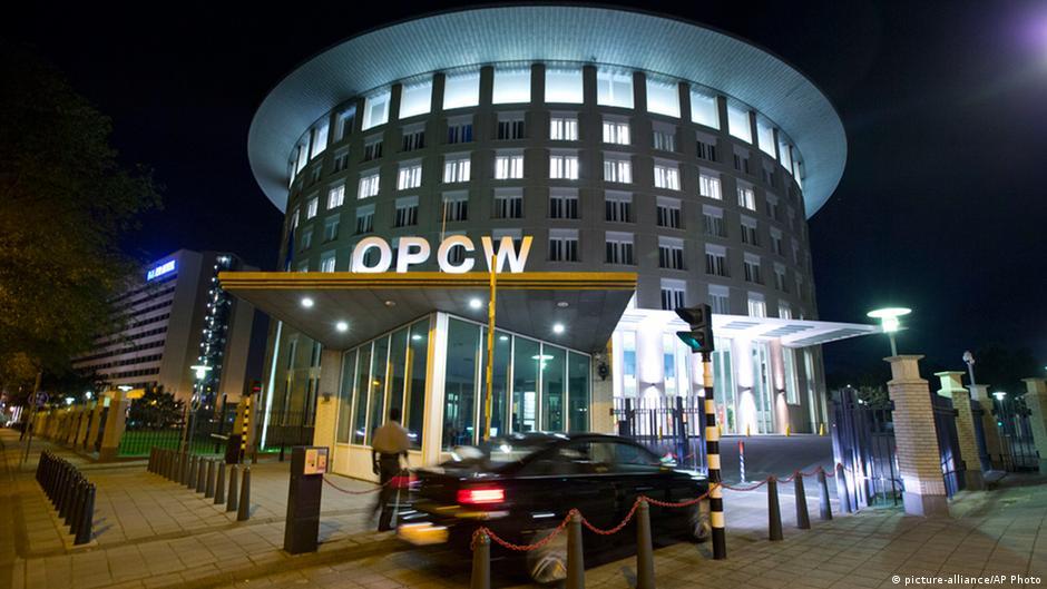 Сирия официально вступила в Организацию по запрещению химоружия   DW   14.10.2013