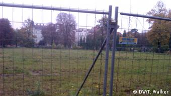 A construction site in Pankow. Copyright: DW/Tamsin Walker
