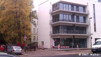 Luxury apartments under construction in Pankow