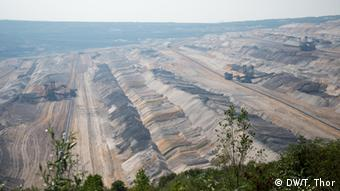Brown coal mine in Hambach, Germany