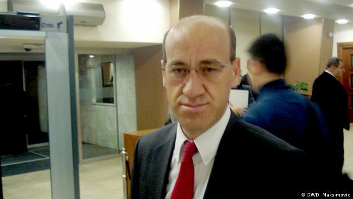 Ramiz Salkic Experte aus Bosnien und Herzegowina (DW/D. Maksimovic)