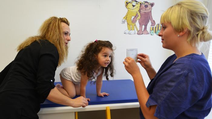 Praxis einer Kinderärztin