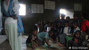 Kindergarten class in Awra Amba