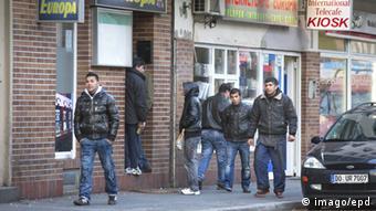 Bugari nisu više rijedak prizor na ulicama Dortmunda. Oni za nadnicu rade razne poslove.