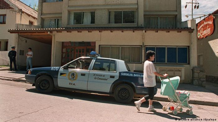 Priebke Wohnhaus Bariloche Argentinien (picture-alliance /dpa/epa)