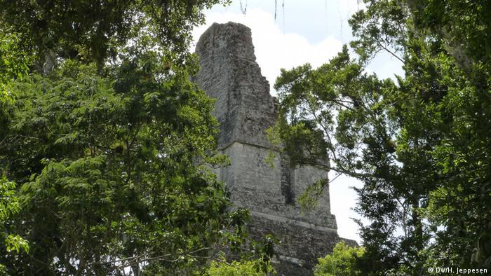 Ruinas de Tikal, uno de las ciudades mayas.