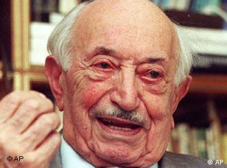 Simon Wiesenthal (Archivbild von 1999)