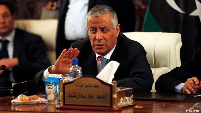 Ali Seidan Ministerpräsident Libyen PK (Reuters)