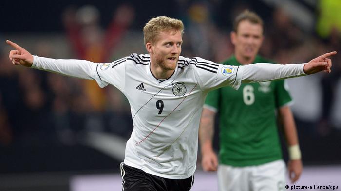 Cuatro goles en dos partidos con la selección: Andre Schürrle es el jugador de moda en Alemania.