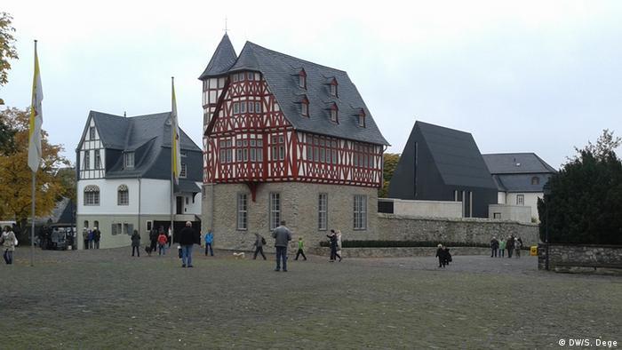 Bischofssitz in Limburg (Foto: DW)