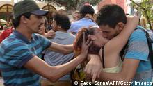 Kiss-in in Rabat/Marokko