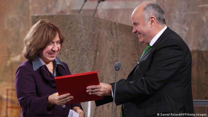 Friedenspreis des Deutschen Buchhandels 2013 Swetlana Alexijewitsch