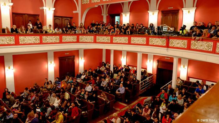 Crowd (photo: DW/Birgit Görtz)
