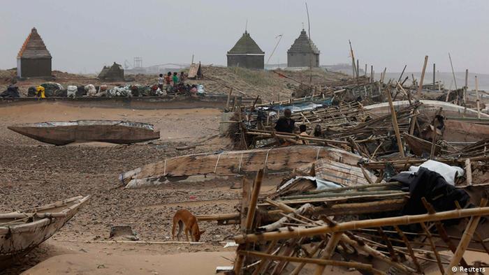 Indien Zyklon Phailin (Reuters)