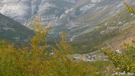 Dorf Thethi in Albanien