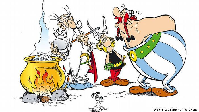 Ein Motiv aus dem Comic 'Asterix bei den Pikten' (Foto: Les Éditions Albert René)