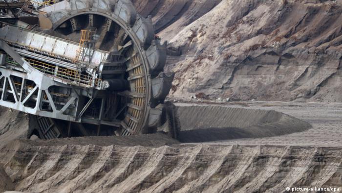 Lignite mine at Garzweiler, Germany
