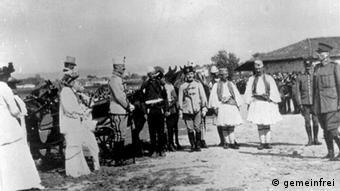 Wilhelm zu Wied me Isa Boletinin në Shqipëri