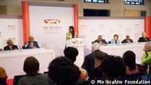 Mitglieder der Mo Ibrahim-Stiftung und des Mo-Ibrahim-Preis-Komittees bei der Vorstellung des Mo-Ibrahim-Indexes 2013 am 14. Oktober 2013 in London zugeliefert von: Friederike Müller copyright: Mo Ibrahim Foundation