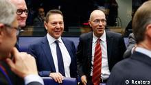Finanzministertreffen in Luxemburg am 14. Oktober 2013