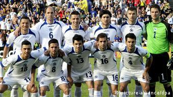 Fußball WM-Qualifikation 2014 - Nationalmannschaft Bosnien-Herzegowina