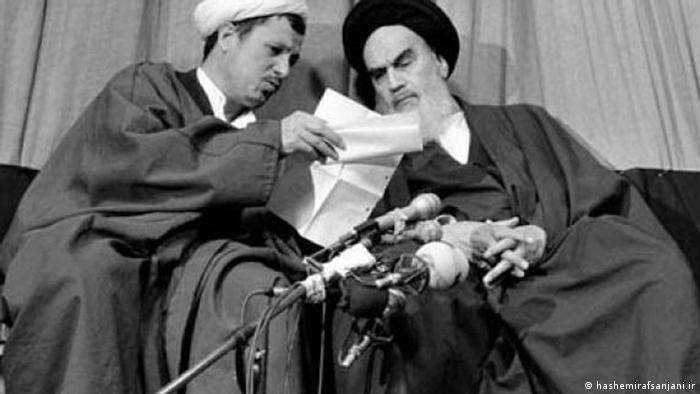 روحالله خمینی و اکبر هاشمی رفسنجانی