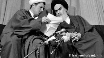 Hashemi Rafsanjani Khomeini Iran