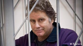 Der amerikanische Kapitän vom Greenpeace-Schiff Arctic Sunrise Peter Willcox