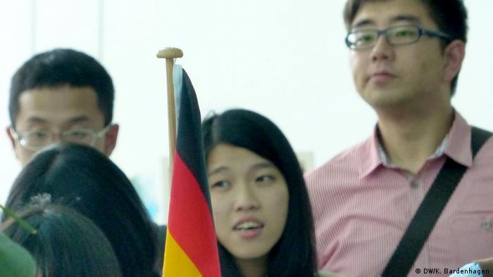 Deutsche Firmen suchen Nachwuchs aus Taiwan (DW/K. Bardenhagen)