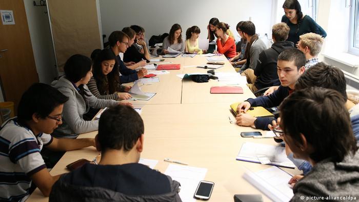 Studenten aus dem Ausland an Hamburgs Universitäten