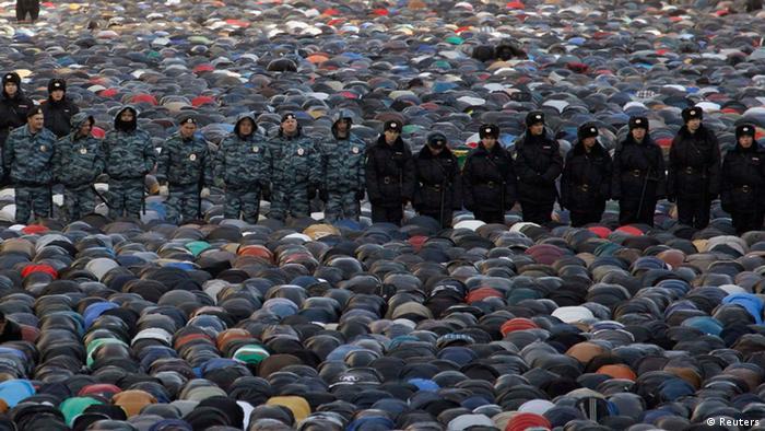 Курбан-Байрам в Москве, 15 октября 2013 года