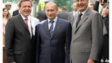 Schröder und Chirac treffen Putin in Swetlogorsk p178