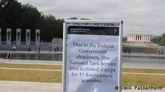 Zatvoreni spomenici u Washingtonu