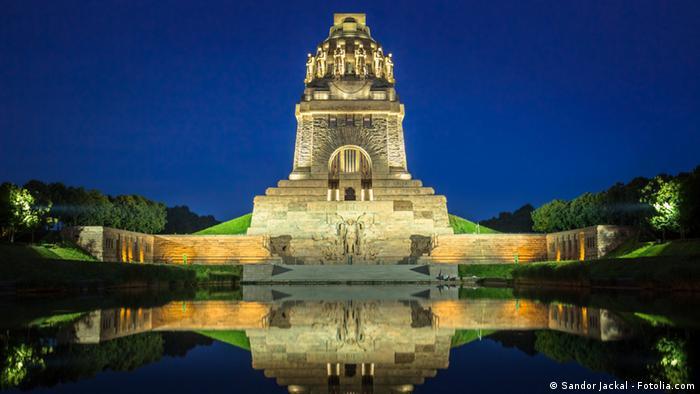 Памятник ''Битве народов'' - один из символов Лейпцига