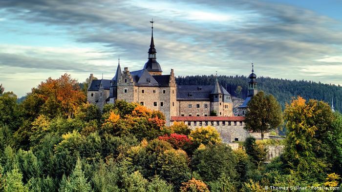 Замок Лауэнштайн - Burg Lauenstein