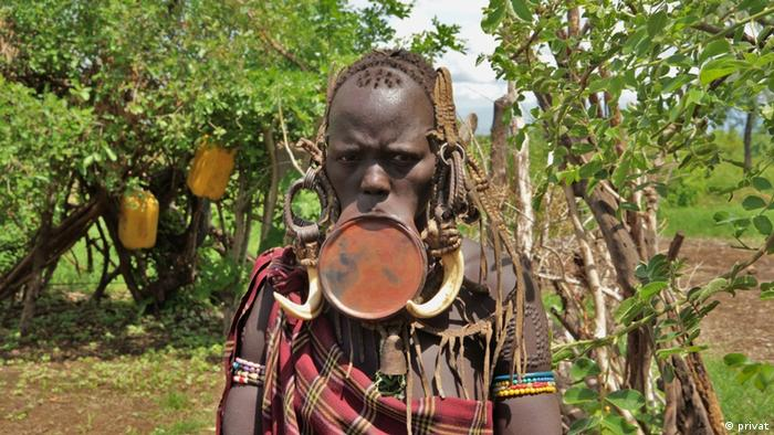 With more than 80 ethnic groups, Ethiopia is home to a variety of authentic cultures. Here the Mursi and the Surma with their famous plate lipped women.