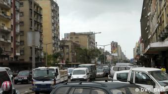 Stau in Maputo