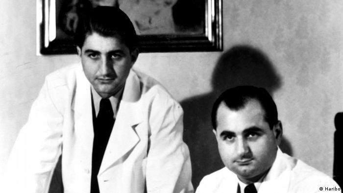 Paul und Hans Riegel (Pressebild Haribo)