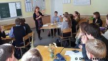 Umweltunterricht an ukrainischen Schulen