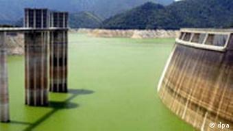 Dürre in Spanien - Stausee p178