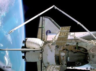 us shuttle joins russian space station - photo #19