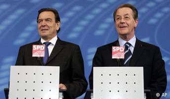 Schröder und Müntefering