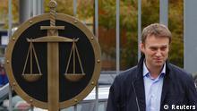 Russland Prozess Alexej Nawalny 09.10.2013