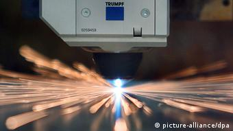 Металлорежущий станок фирмы Trumpf
