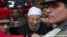 Ägypten Prediger Yusuf Abdallah al-Qaradawi Archiv 2011