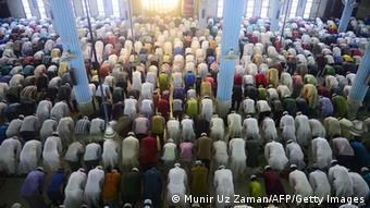Eid al-Adha prayers in Dhaka in 2013