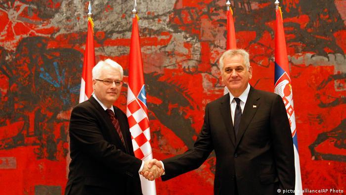 Ivo Josipović i Tomislav Nikolić u Beogradu