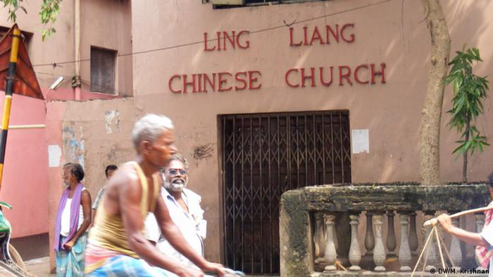 A local Chinese church in Kolkata's China town (Photo: DW/Murali Krishnan)